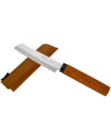 Nóż SatakeKamagata do owoców w drewnianej pochwie