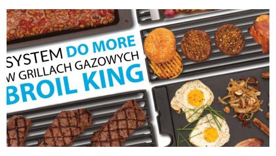 System Do More w grillach gazowych Broil King®.