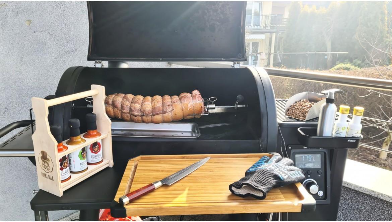 Przepis na roladę z boczku po staropolsku przygotowaną na grilluBroil King® REGAL™ PELLET 500