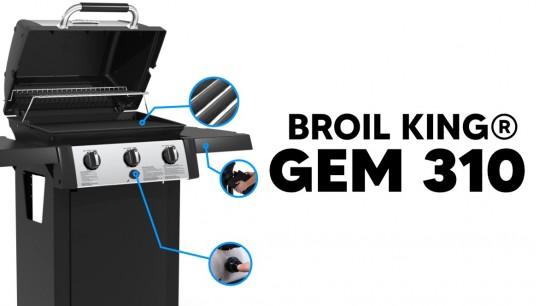 Grill gazowy Broil King® GEM 310